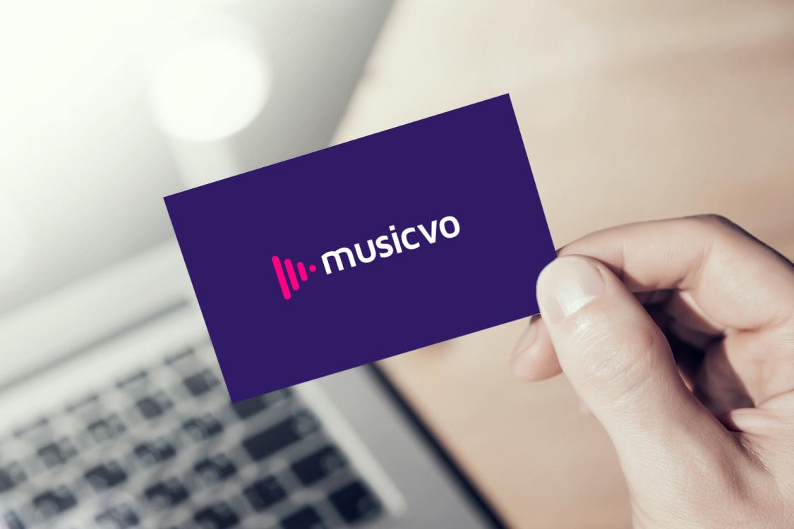 Sample branding #1 for Musicvo