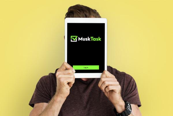 Sample branding #3 for Musktask