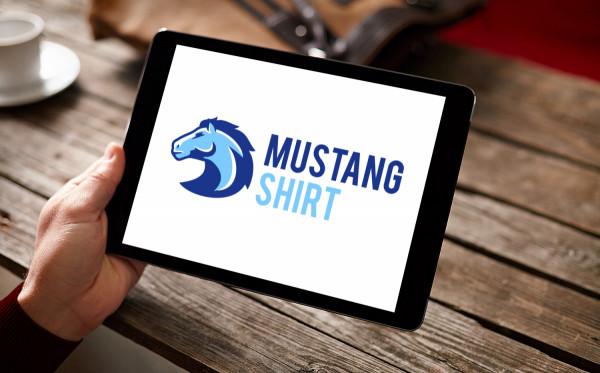 Sample branding #3 for Mustangshirt