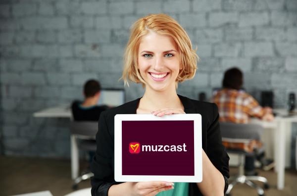 Sample branding #1 for Muzcast