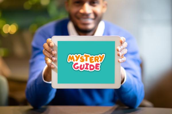 Sample branding #3 for Mysteryguide