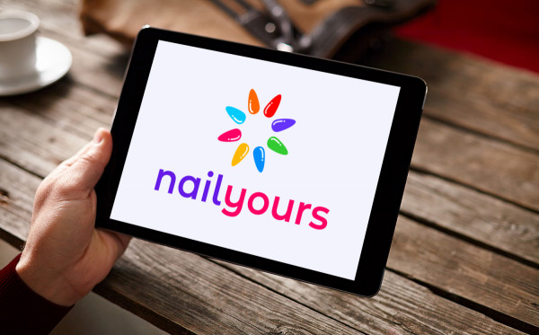 Sample branding #2 for Nailyours