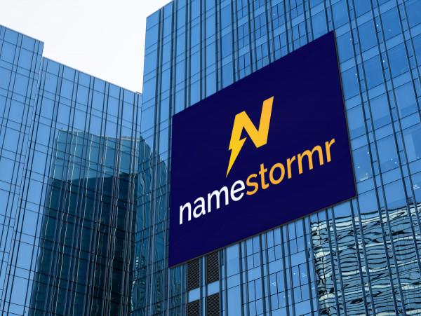 Sample branding #2 for Namestormr