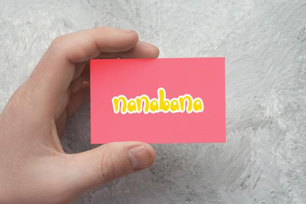 Sample branding #1 for Nanabana