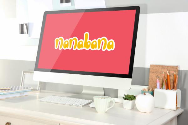 Sample branding #3 for Nanabana