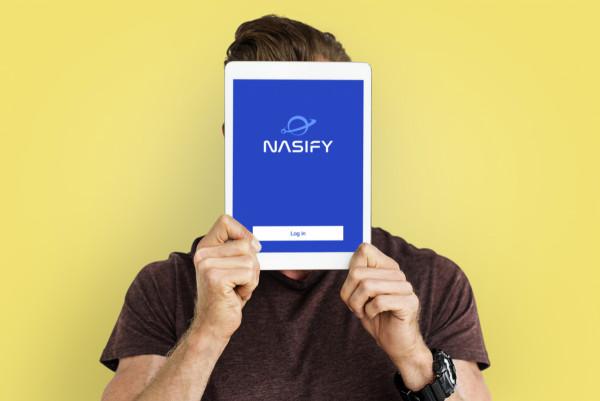 Sample branding #3 for Nasify