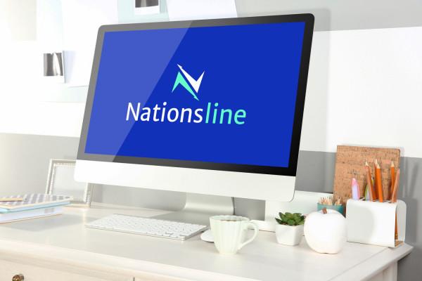 Sample branding #2 for Nationsline