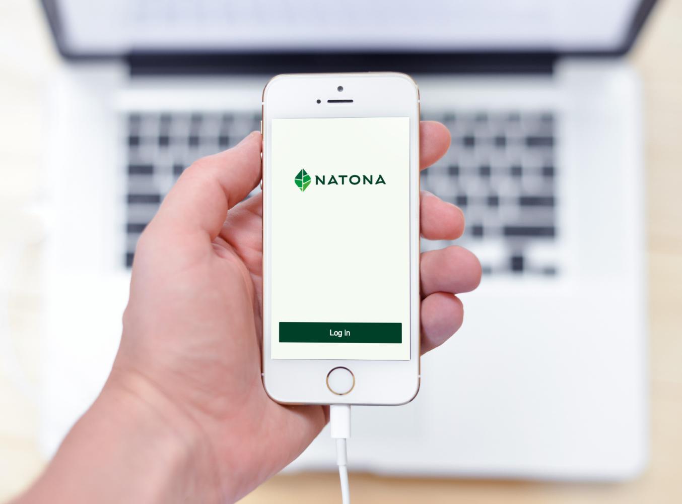 Sample branding #1 for Natona