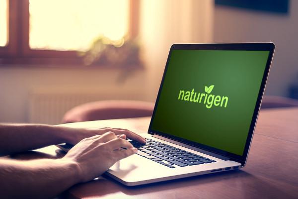 Sample branding #2 for Naturigen