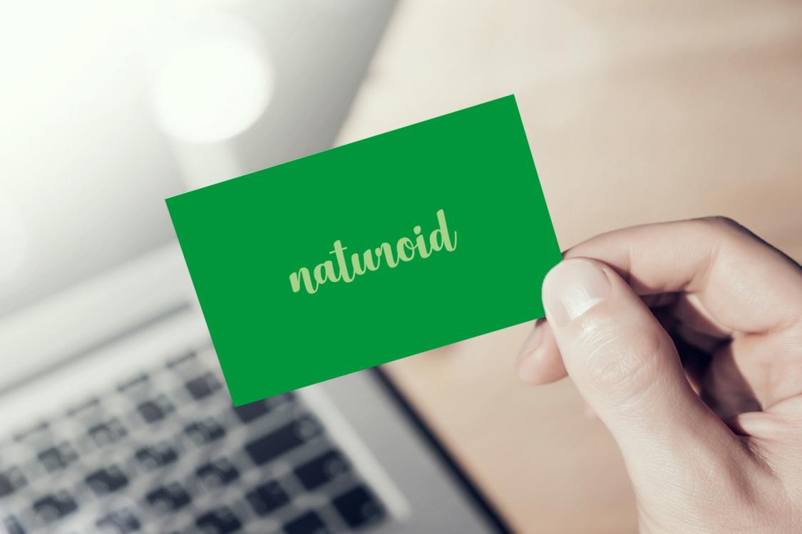 Sample branding #1 for Naturoid