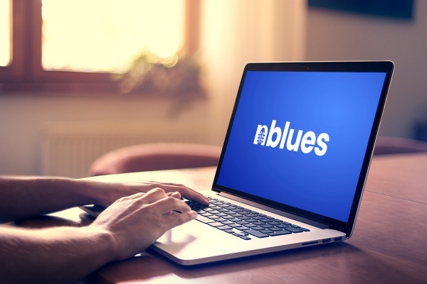 Sample branding #3 for Nblues