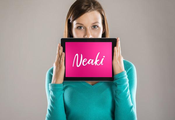 Sample branding #1 for Neaki