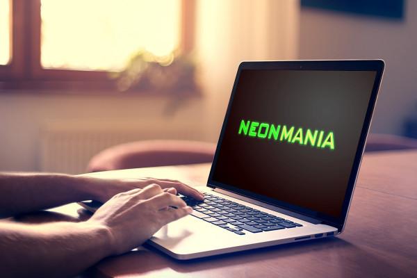 Sample branding #2 for Neonmania