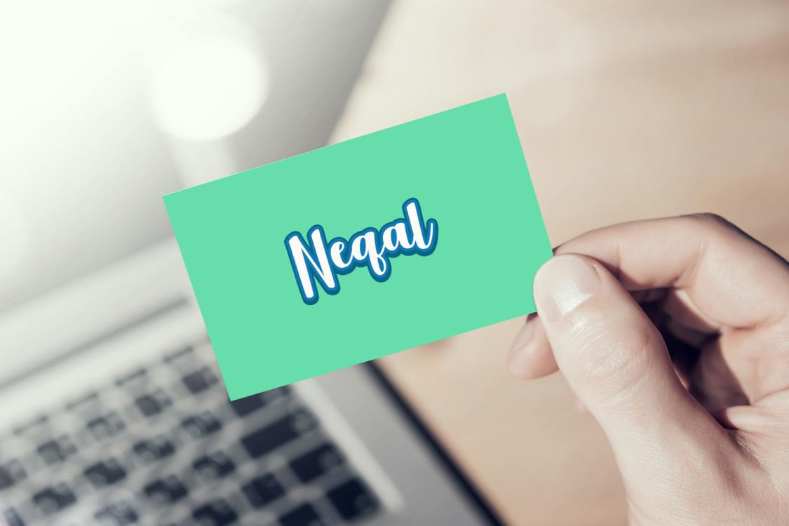 Sample branding #1 for Neqal
