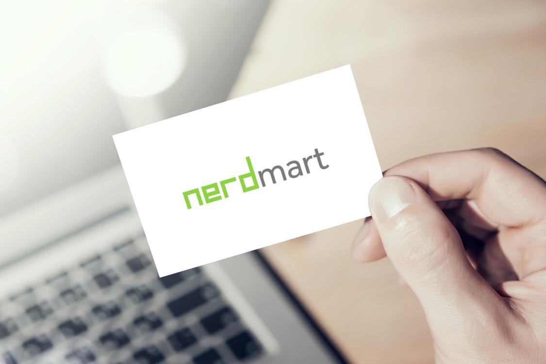 Sample branding #3 for Nerdmart
