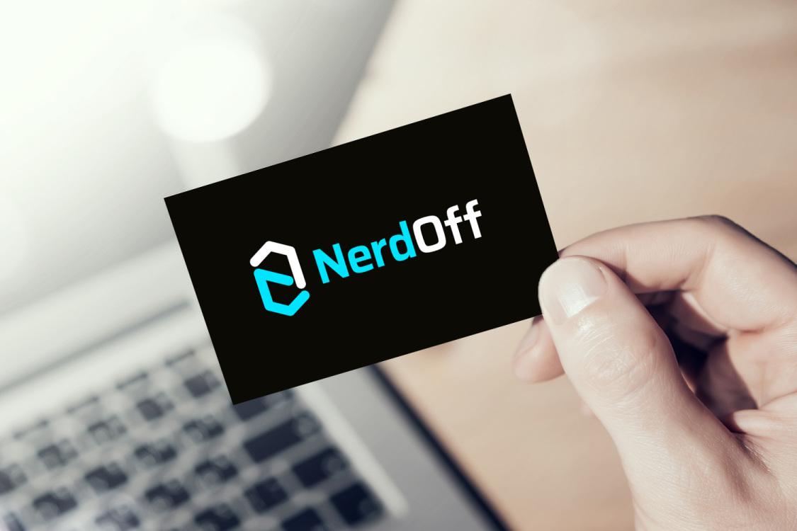Sample branding #3 for Nerdoff