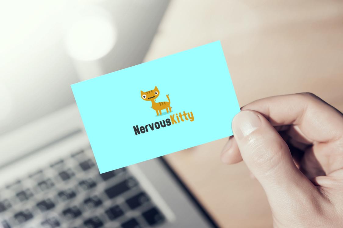 Sample branding #2 for Nervouskitty