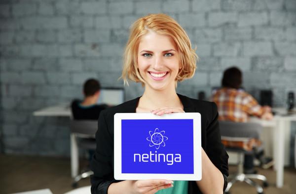 Sample branding #1 for Netinga