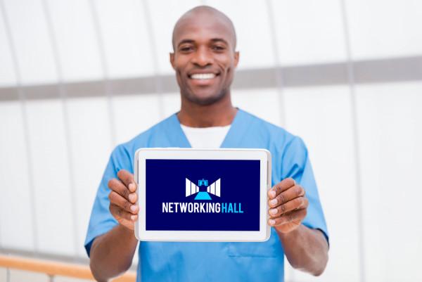 Sample branding #1 for Networkinghall