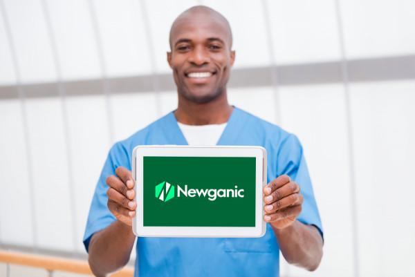Sample branding #2 for Newganic