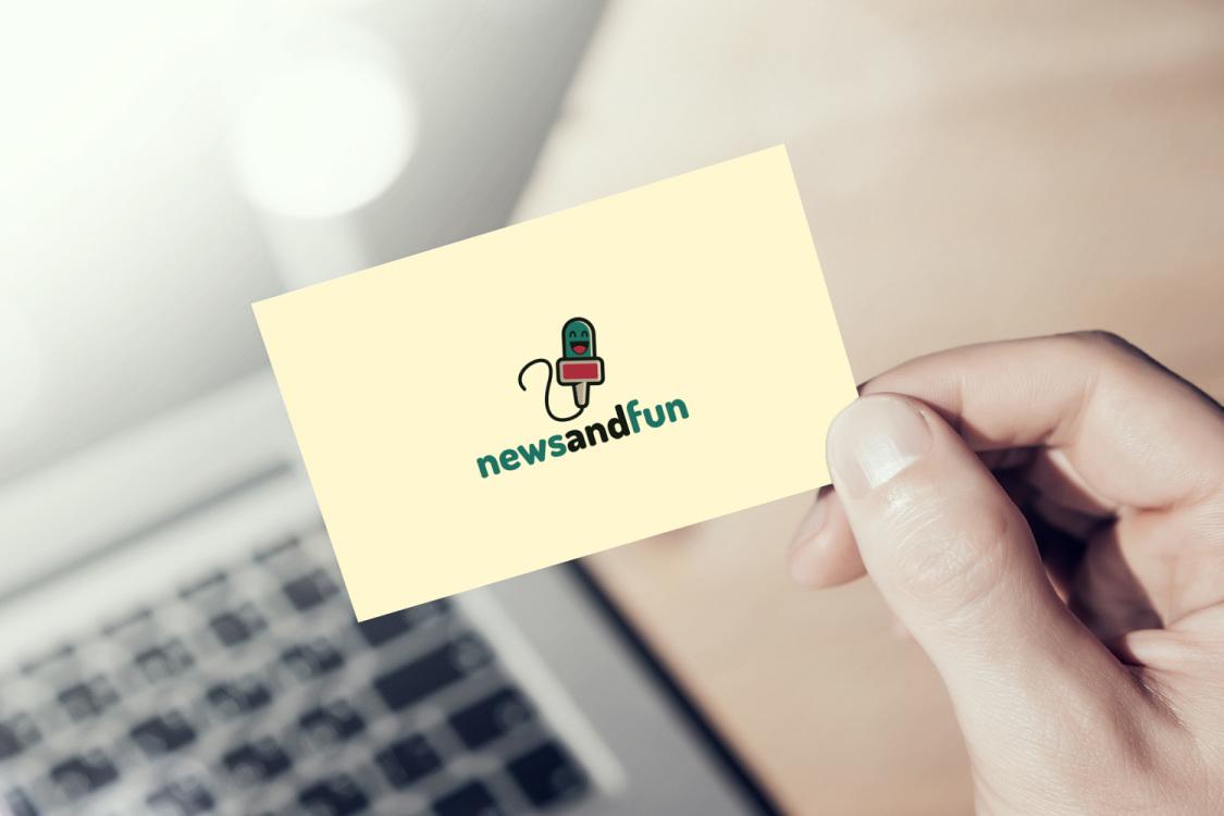 Sample branding #2 for Newsandfun