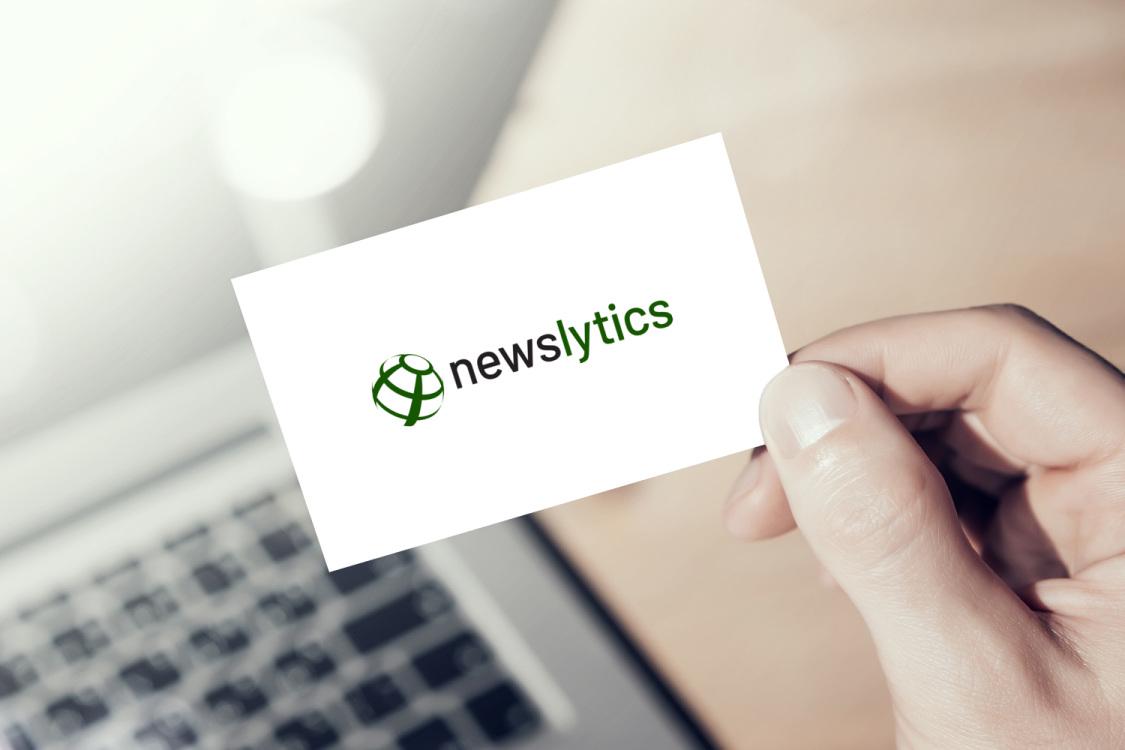 Sample branding #2 for Newslytics