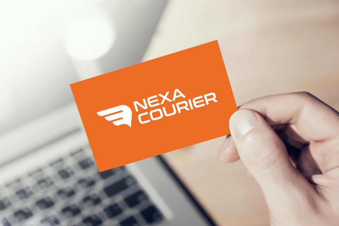 Sample branding #2 for Nexacourier