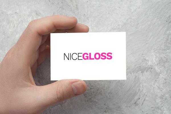 Sample branding #3 for Nicegloss
