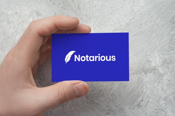 Sample branding #2 for Notarious