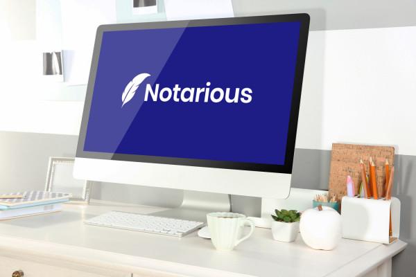 Sample branding #1 for Notarious