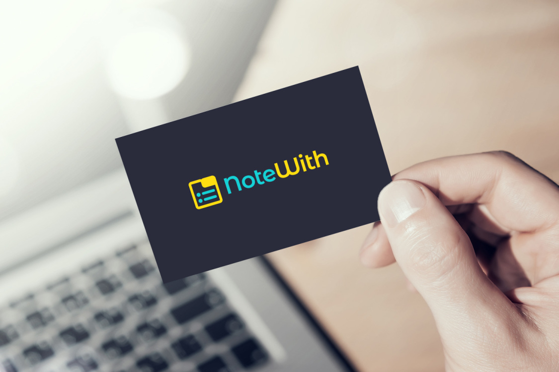 Sample branding #1 for Notewith