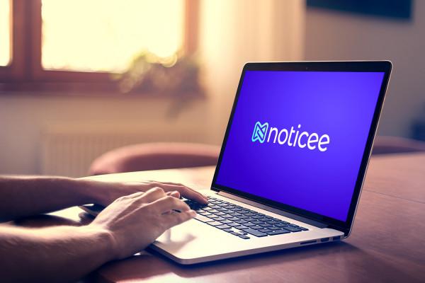 Sample branding #3 for Noticee