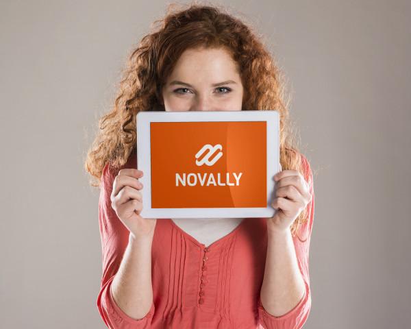 Sample branding #3 for Novally