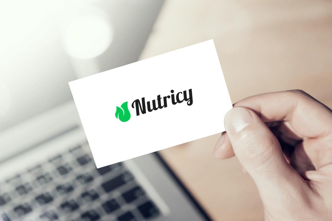 Sample branding #2 for Nutricy