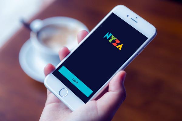 Sample branding #1 for Nyza