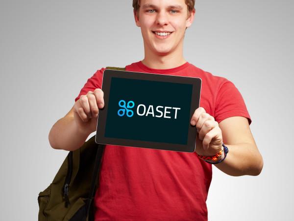 Sample branding #1 for Oaset