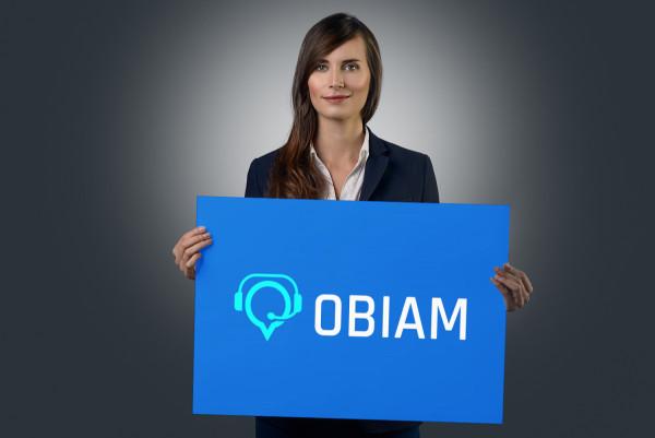 Sample branding #1 for Obiam