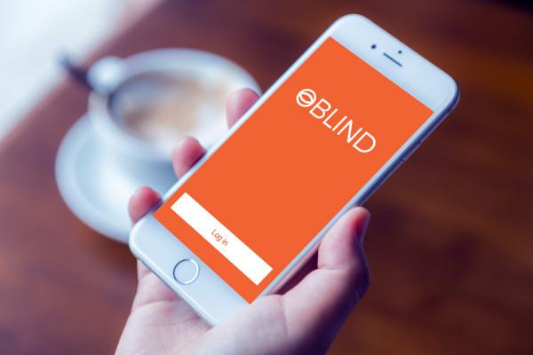 Sample branding #2 for Oblind