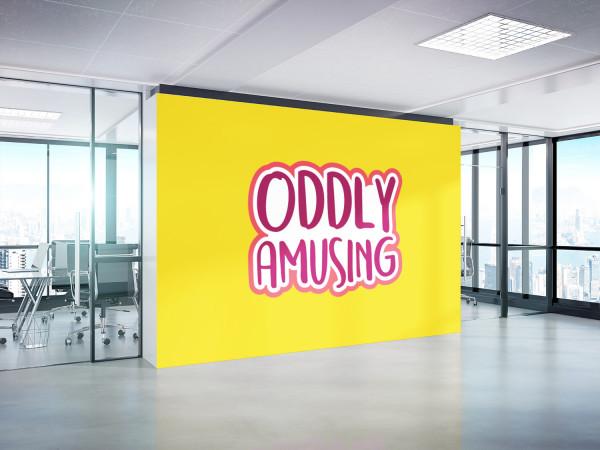 Sample branding #1 for Oddlyamusing