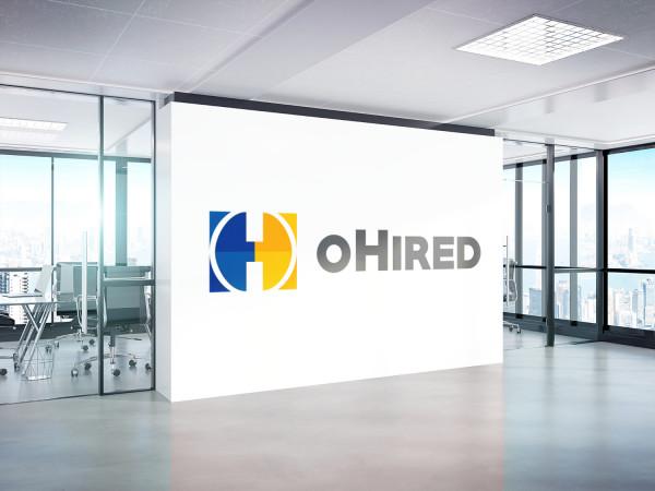 Sample branding #1 for Ohired
