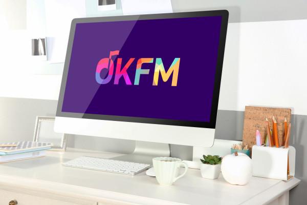 Sample branding #2 for Okfm