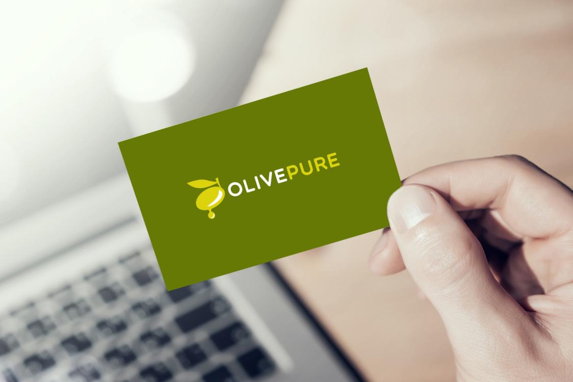 Sample branding #2 for Olivepure