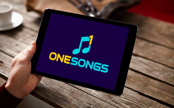 Sample branding #1 for Onesongs