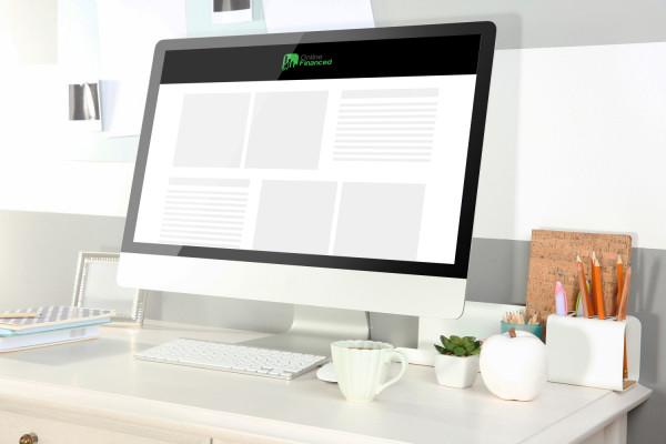 Sample branding #2 for Onlinefinanced