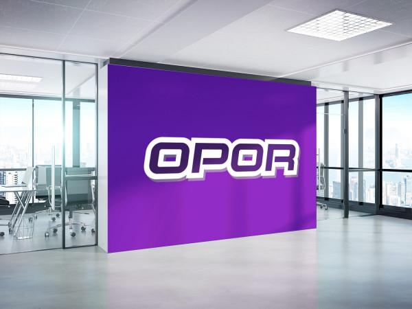 Sample branding #3 for Opor