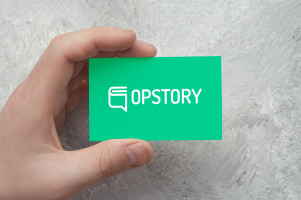 Sample branding #1 for Opstory