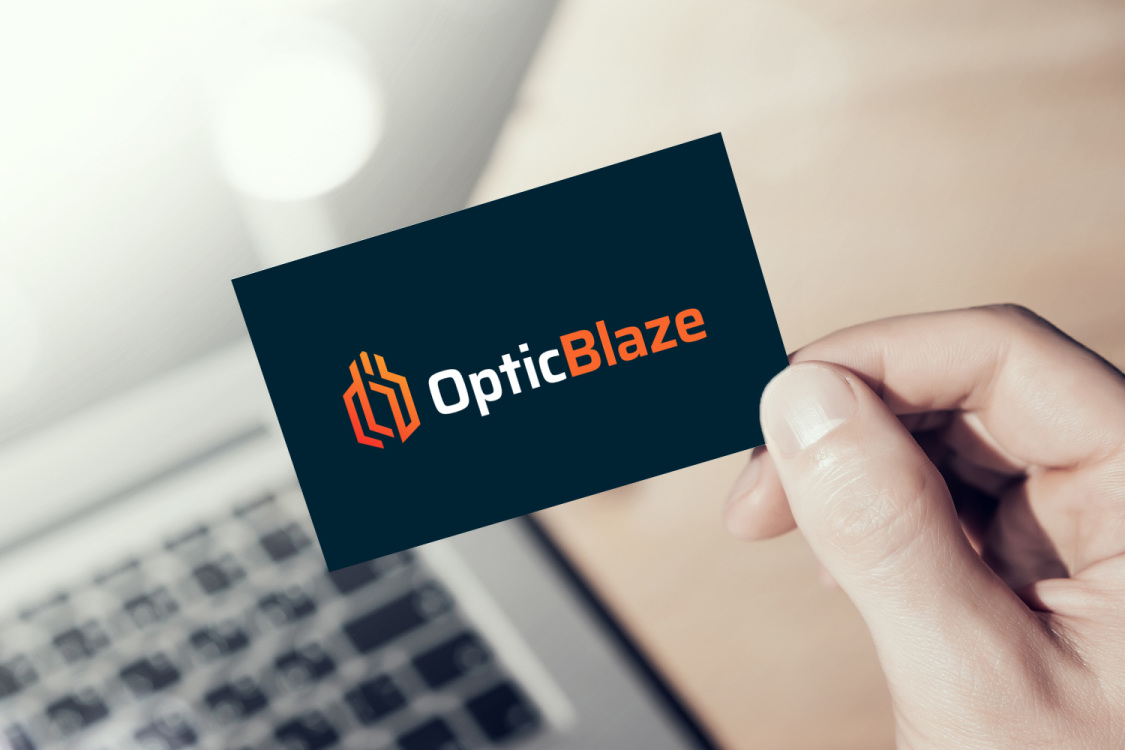 Sample branding #1 for Opticblaze
