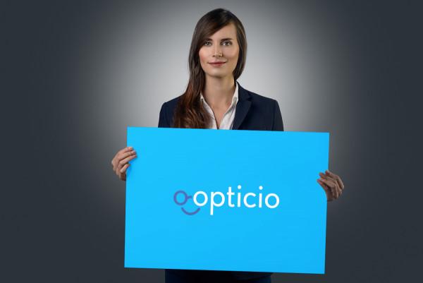 Sample branding #1 for Opticio