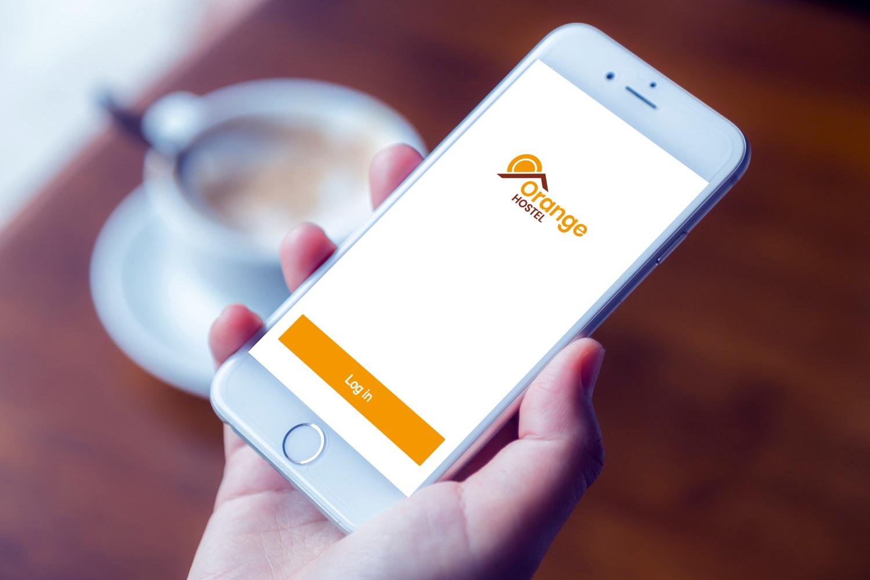 Sample branding #1 for Orangehostel