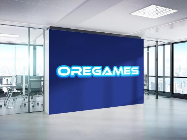 Sample branding #3 for Oregames